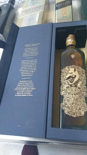 尊尼获加(JOHNNIE WALKER)洋酒 蓝牌调配苏格兰威士忌狗年限量版洋酒礼盒750ml 晒单图