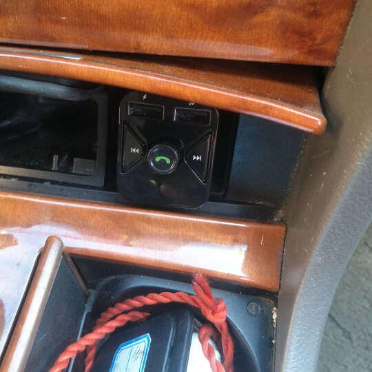鹿港(LUGN)车载mp3蓝牙u盘式音乐播放器车载充电器点烟器FM发射器蓝牙免提电话 官方升级 晒单图