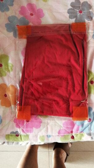 【3件85折】班尼路男装 纯棉V领短袖t恤男 圆领体恤 V领-05Q暗橙色 L 晒单图