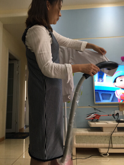 韩国现代(HYUNDAI)2.5升 双杆可卧可立 蒸汽挂烫机家用 手持/挂式电熨斗 HY-1618玫瑰金 晒单图