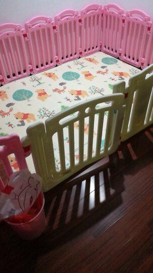 迪士尼DISNEY 宝宝爬行垫 XPE折叠款 双面婴儿爬爬垫地垫 米奇游乐+维尼森林 折叠垫 200*150cm 晒单图