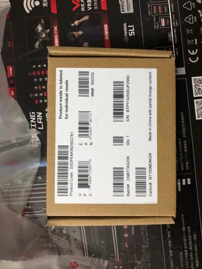 英特尔(Intel)600P系列 256G M.2 2280接口固态硬盘 晒单图