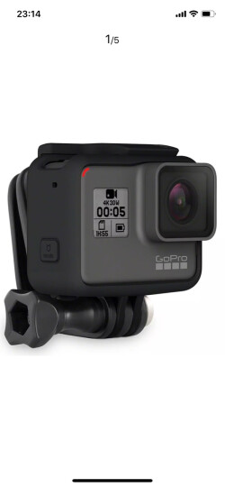 GoPro 运动摄像机配件头部固定头带及QuickClip可调节(适用于HERO4,HERO5,HERO6) 晒单图