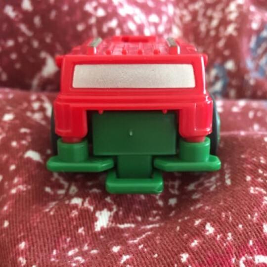 跳跃战士玩具变形战车机器人爆裂小子玩具全套魔幻车神4男孩烈火骑士飞车 单只装-疾风战将(跑车) 晒单图