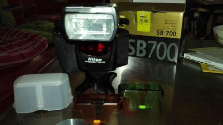 Nikon/尼康SB-700闪光灯  全画幅单反相机通用 小型场景通用相机配件 晒单图