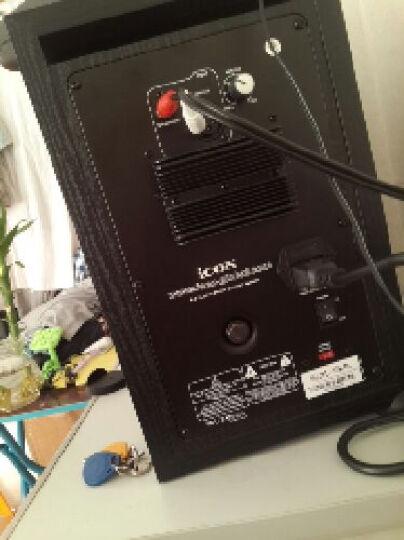 艾肯(iCON)SX6A音箱 SX-6A监听音箱 录音音响 YY 有源监听音响 一对 晒单图