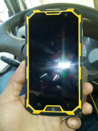 CONQUEST 征服S8 工业三防智能对讲手机全网通4G双卡双待防水防尘防震防摔 4GB+64GB版黄色 晒单图