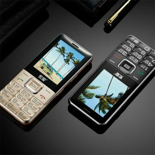 索爱 T618 移动/联通老人手机 直板按键老年手机 语音播报  超长待机 雅黑色 晒单图