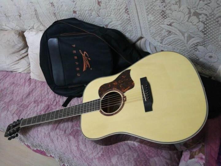 starsun 星臣 Starsun星辰民谣吉他初学者吉它乐器jita 新款 41寸DG220C-P哑光原木色 晒单图