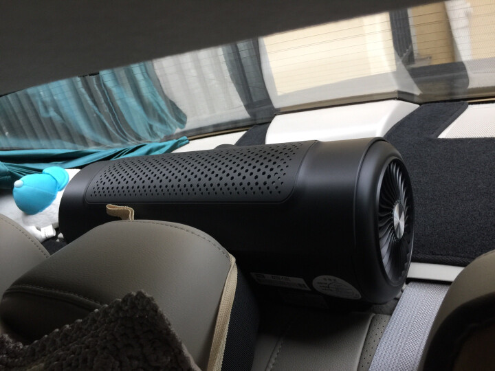 TCL C1智能车载空气净化器 除甲醛除pm2.5新车除味车内除烟味 便携式车用负离子汽车空气净化器 车载净化器 晒单图