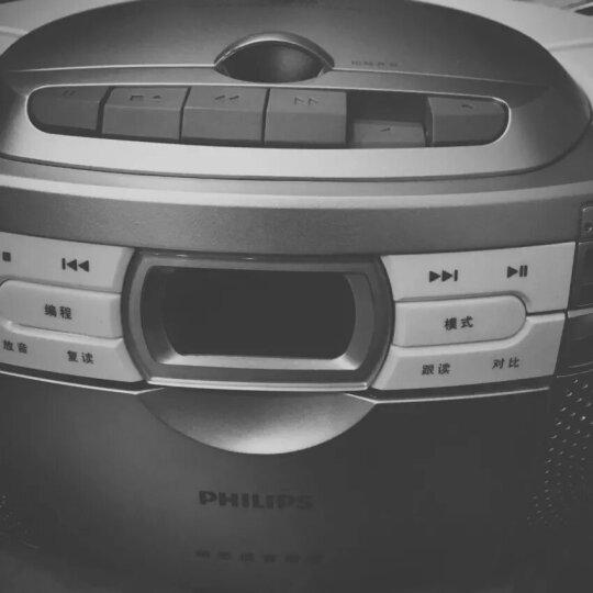 飞利浦(PHILIPS)AZ1066/93 音响 CD机 播放机 录音机 学习机 复读机 磁带机 胎教机 便携收录机 收音机 晒单图