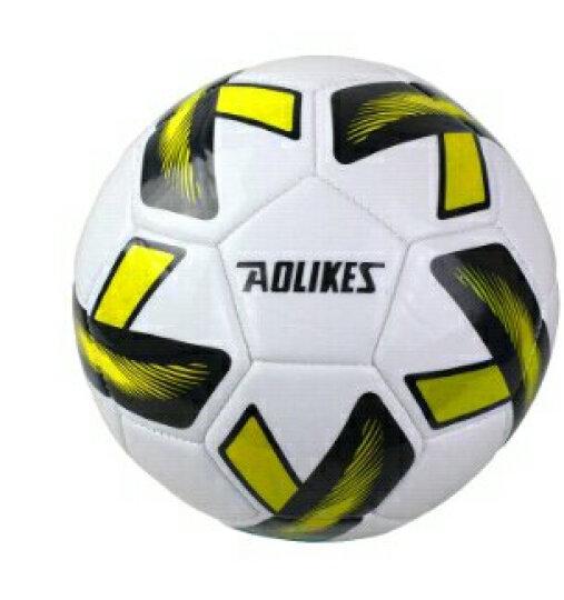 奥力克斯(AOLIKES) 耐磨高弹3号足球小学生训练球卡通儿童玩具宝宝幼儿园小朋友足球 黄色3号球配气筒气针 晒单图