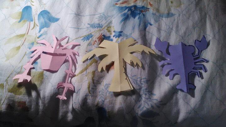 儿童剪纸书大全套装3-6岁幼儿园宝宝益智玩具DIY手工制作折纸材料 200张剪纸+直边剪+花边剪+固体胶 晒单图