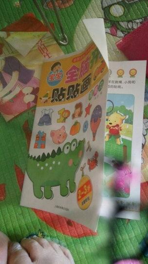 12册 宝宝全脑开发贴贴画 2-6岁儿童趣味贴贴画神奇贴纸书  幼儿全脑开发手工粘贴书   晒单图