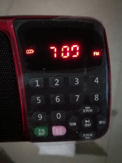 先科(SAST) 先科 收音机MP3插卡音箱便携式迷你音乐播放器 老年人小音响广场舞老年随身听唱戏机 迷人红+8G卡+送3000首戏曲+点歌本 晒单图