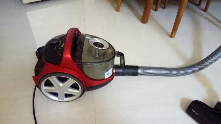飞利浦(PHILIPS)吸尘器家用无尘袋大功率小型卧式尘桶型吸尘器无耗材 FC5986/81牛仔蓝1600w可扫柜顶 晒单图