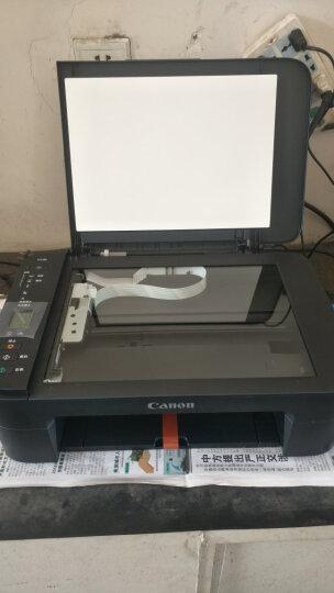 佳能TS3180彩色喷墨照片打印机复印多功能一体机无线wifi家用小型办公学生A4手机作业试卷 套餐三(加墨内胆一套+墨水2套 照片纸1包) 晒单图