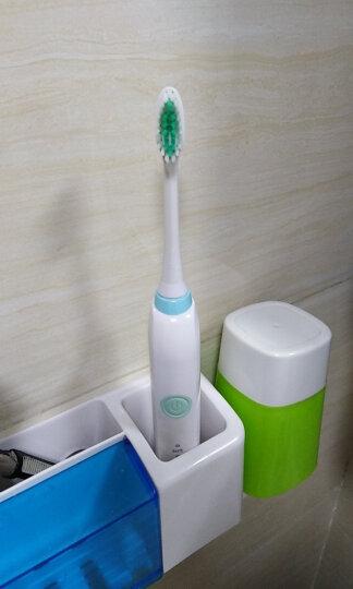 拜尔(BAIR)X1S Plus 成人电动牙刷 声波自动软毛防水情侣套装 粉红+天蓝 (2主机+16个刷头+便携盒) 晒单图
