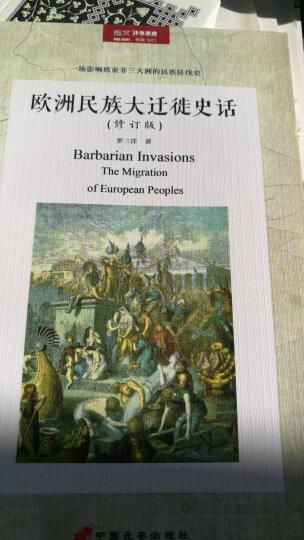 欧洲民族大迁徙史话(修订版) 晒单图