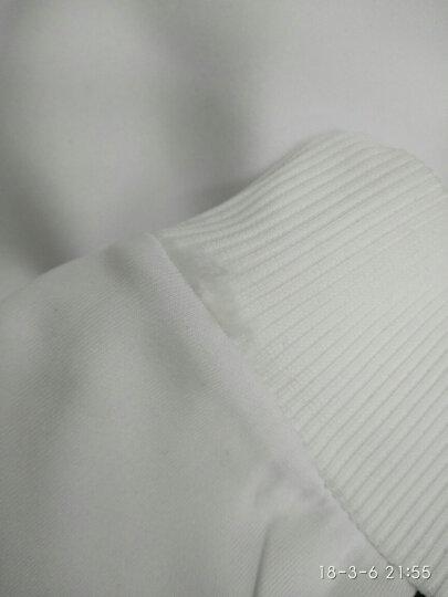 RoSo.Luu卫衣男款2018春秋季圆领韩版时尚休闲长袖t恤男士上衣 麻灰(小熊) 3XL 晒单图