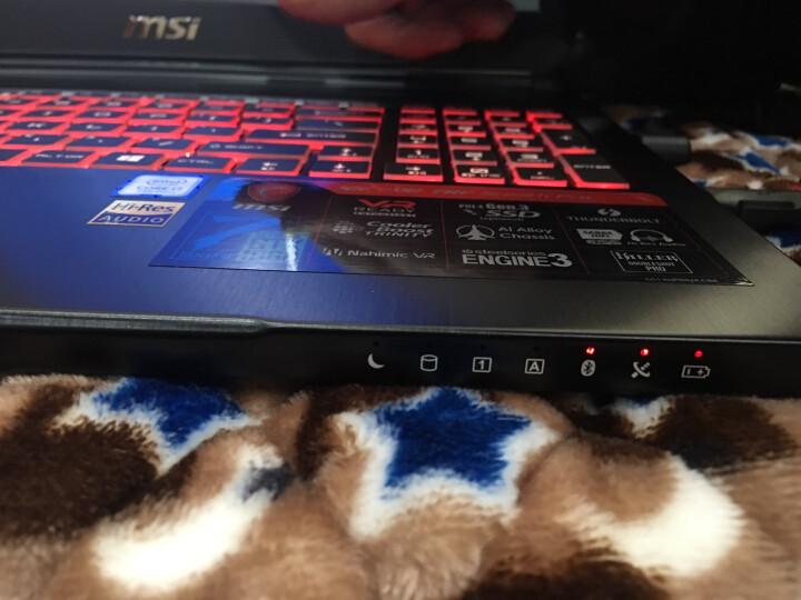 微星(msi)GS63VR 15.6英寸轻薄游戏笔记本电脑(i7-7700HQ 8G*2 1T+128G SSD GTX1060 6G 赛睿多彩 Killer黑) 晒单图