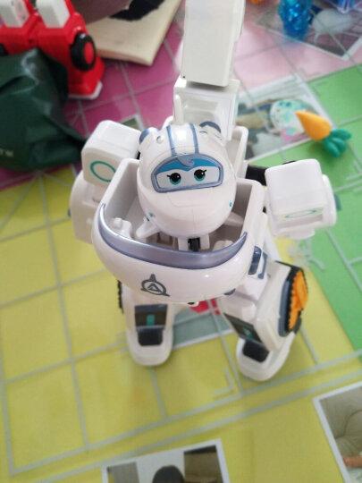 奥迪双钻(AULDEY)超级飞侠玩具套装大礼盒大号变形机器人 Q版机器人包警长720355 晒单图