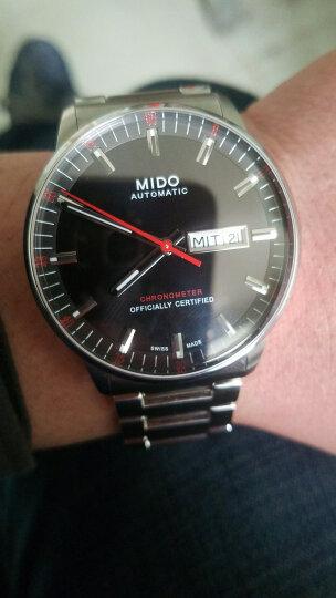 全球购 美度MIDO 瑞士手表-巴塞尔新款 指挥官系列 自动机械钢带男表 M021.431.11.051.00 晒单图