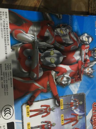 咸蛋超人(ULTRAMAN) 奥特曼玩具 儿童超人战士对战怪兽套装玩具 4只装(怪兽蛋集合B款) 晒单图