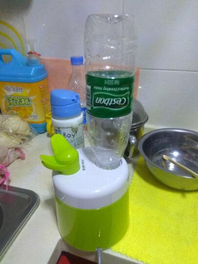 索爱(soar) 小型加湿器迷你款卧室家用办公室饮料瓶空调空气加湿机静音香薰机宝宝适用 草绿色 晒单图