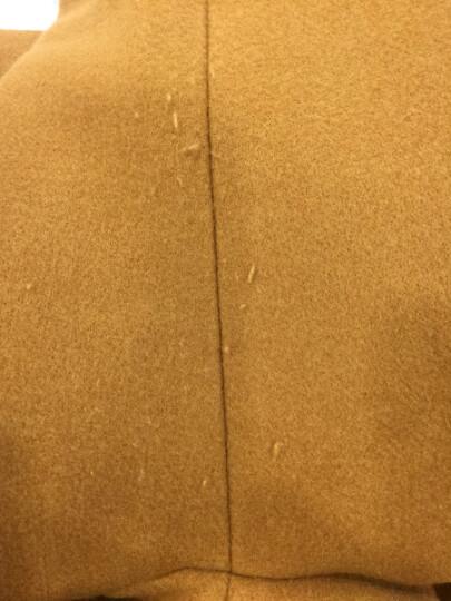 念露秋冬季女装新款休闲大码毛呢外套女中长款韩版A字修身小个子学生斗篷呢子大衣668 黑色 L(适合128斤以下) 晒单图