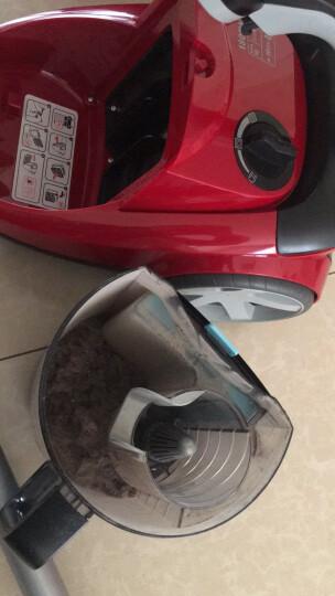 飞利浦(PHILIPS)吸尘器FC8760/81家用无尘袋大功率(果冻红) 晒单图