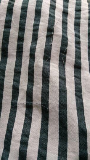 南极人四件套纯棉床品套件全棉斜纹印花床上用品(被套2x2.3米) 小草莓【上新款】 1.5-1.8米床适用 晒单图