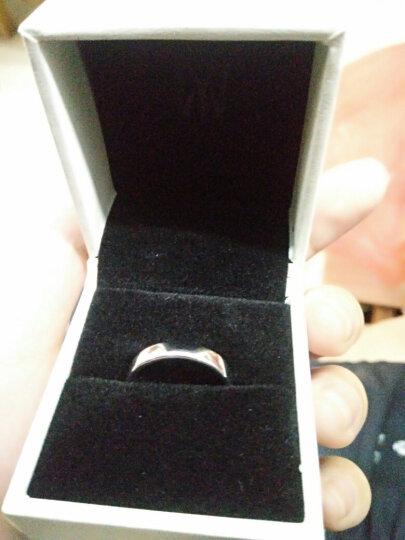 曼蒂娅 925银情侣戒指一对银学生刻字情侣对戒男士女士一对开口光圈戒指送女友礼物 光圈男戒,商家发货! 晒单图
