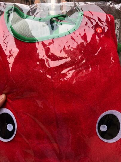 梦之艺六一儿童演出服水果蔬菜造型幼儿园水果环保时装秀表演出衣服装舞蹈裙南瓜服装扮道具 09红辣椒 吊牌XXL适合150-170CM 晒单图