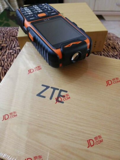 中兴(ZTE Health)健康 L628 移动/联通 三防直板老人手机老年手机超长待机 橙色 晒单图