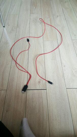 弗吉凯柏(cabos)mhl转hdmi线 适配器安卓手机micro usb连接电视高清线车载转接线  合金版MHL三星专用 晒单图