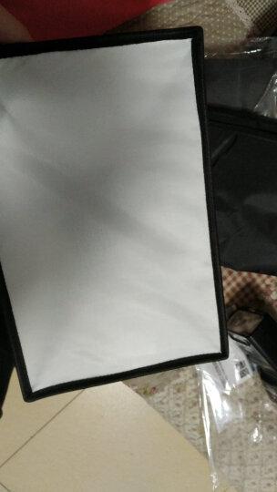 斯丹德(sidande)闪光灯布套柔光罩20*30cm 专业外接热靴机顶柔光箱 便携可折叠单反相机佳能尼康通用 晒单图