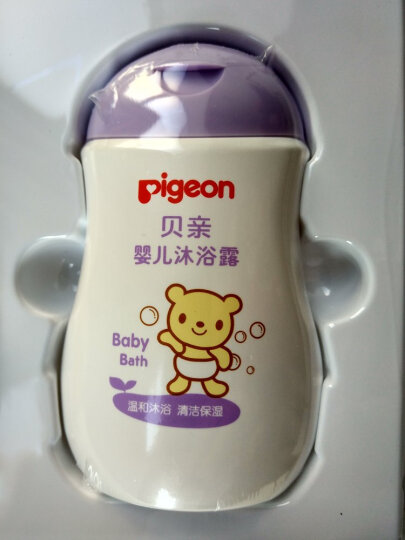 贝亲(Pigeon)婴儿清洁护肤礼盒装IA119(婴儿洗发水/精+婴儿沐浴露+爽身粉+润肤露+润肤油) 晒单图