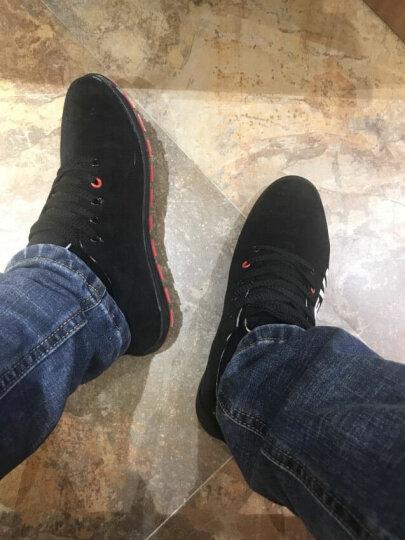 泰潮 男鞋 男士休闲运动鞋 春夏季透气布鞋子男款 大码男鞋 灰色 43 晒单图