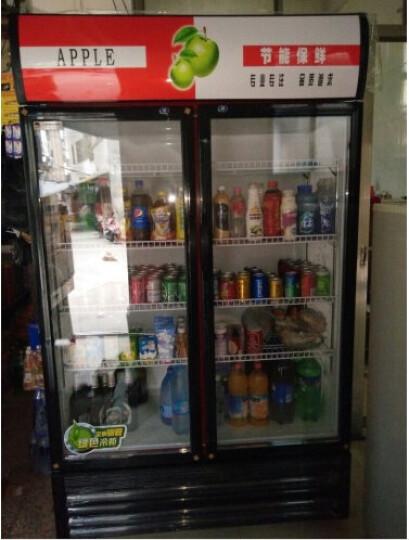 科仕隆(KESHILONG) 展示柜冷藏立式冰柜商用家用冰箱饮料水果保鲜柜 红色/三门 风冷 晒单图