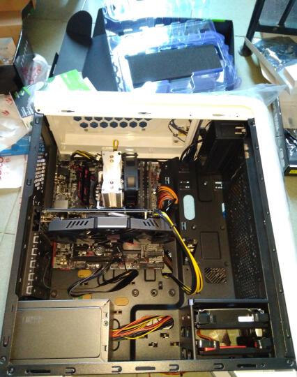 台达(Delta)额定400W NX400电源(80PLUS铜牌/全电压/12CM温控静音风扇/支持背线/主动式PFC/三年质保) 晒单图