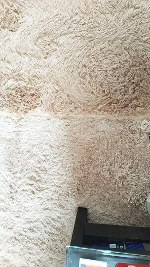 小冰人 丝毛地毯客厅沙发茶几卧室床边毯 房间榻榻米门口厨房浴室 满铺可定制 玫红色 1.6*2米 晒单图
