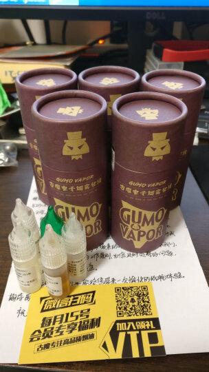 古魔电子烟油烟液正品水果味薄荷戒烟烟草味美国进口原料铁观音乌龙茶绿茶柠檬茶30ML烟油 冰红茶 30ML 0MG 晒单图