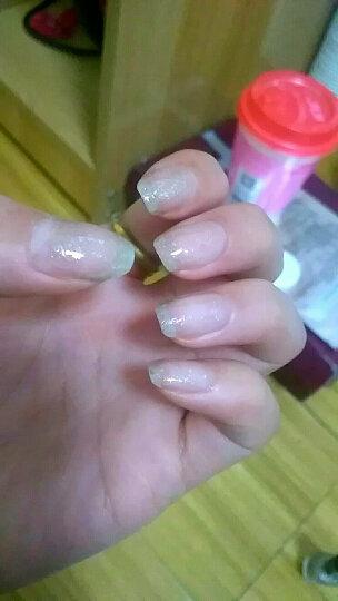 Sivte 水性油指甲油 脚趾可剥可撕拉甲油胶 儿童学生孕妇无毒无味美甲套装 流光砥粉 晒单图