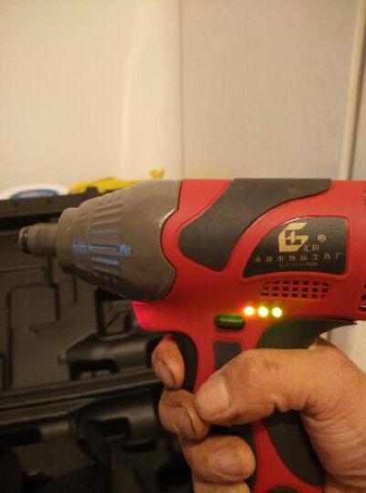 汇川无刷充电扳手冲击扳手锂电扳手电动扳手 架子工专用扳手 无刷进口电机8000毫安二电一充 晒单图