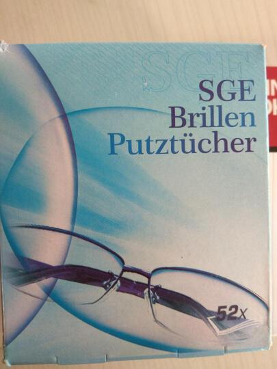 德国进口SGE可茵慈一次性眼镜纸眼镜湿巾眼镜布擦眼镜清洁湿巾擦镜纸擦屏幕纸镜头纸 眼镜湿巾纸-52片 晒单图