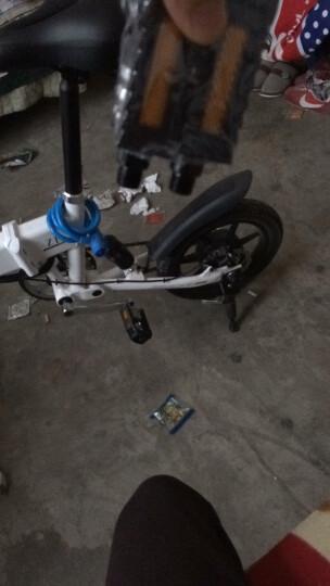 酷车e族 电动车自行车折叠代驾迷你智能电动车轻便电瓶车 Z1代驾宝【白色】 晒单图