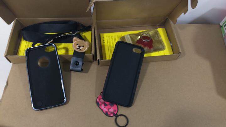 【店长推荐】优内特 苹果X/6S手机壳iPhone6/7/8 Plus全包软套防摔时尚女 4.7寸7/8蚕丝纹爱心【第二件半价】 晒单图