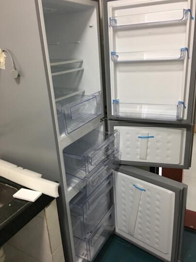 TCL 205升 冰箱 三门 中门宽幅变温 软冷冻即切即用 节能养鲜(星空银)BCD-205TF1 晒单图