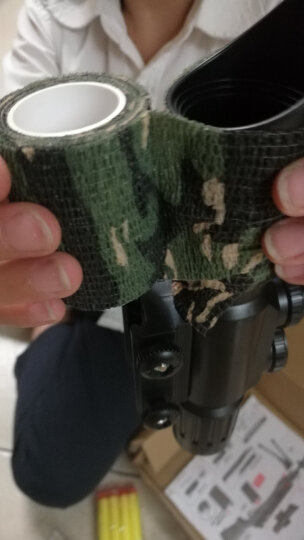 瞄准镜高抗震 十字瞄准器寻鸟镜 4-16倍高清夜视短款光学瞄密位点锁定高倍狙I击镜带红绿点送夹具支架 BSA4-14*44带锁定 晒单图